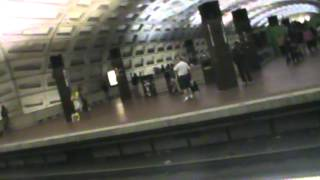 Washington Metro (WMATA): Silver Spring-bound Red Line train at Metro Center