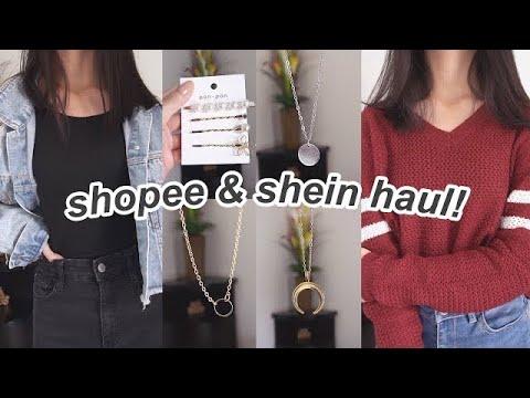 SHOPEE & SHEIN HAUL! | Indonesia