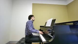 """Jeremy Burroughs plays Debussy's """"Pas sur la neige"""""""