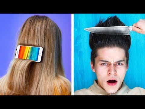 11 забавных типов причёсок / Что расскажет о тебе причёска