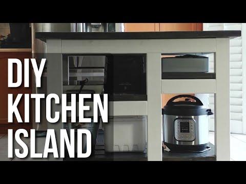 DIY Simple Kitchen Island