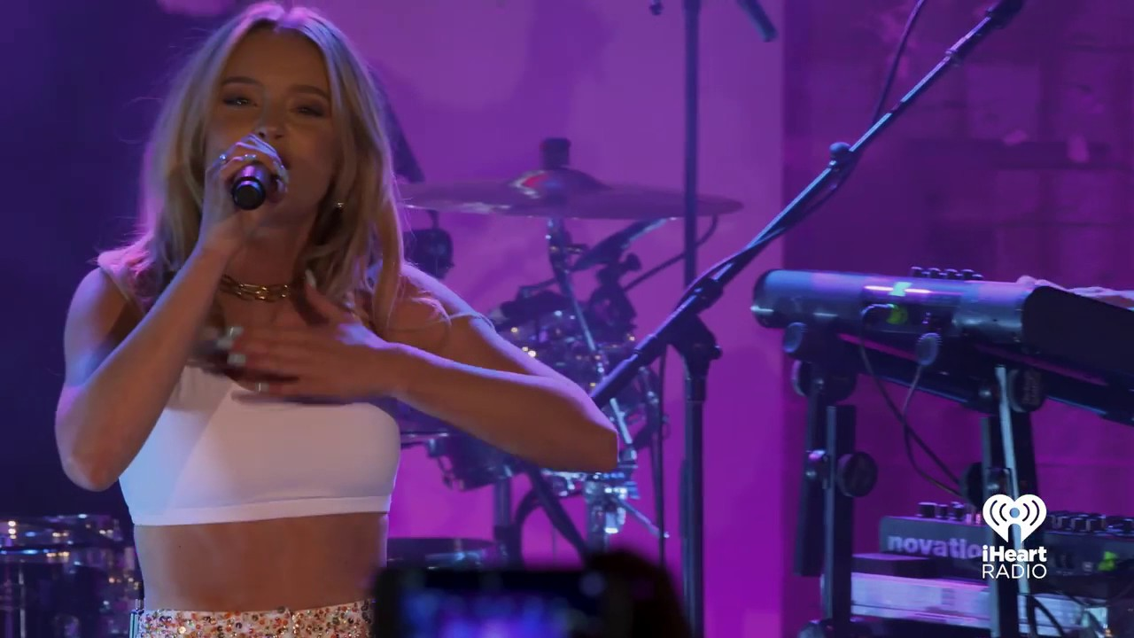Zara Larsson - Don't Let Me Be Yours - Live @ KIIS