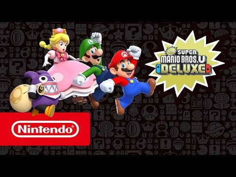 New Super Mario Bros. U Deluxe - Launch Trailer (Nintendo Switch)