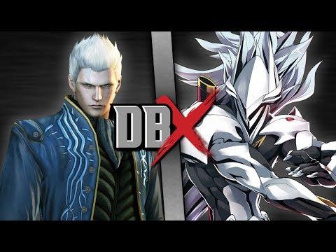 Vergil VS Hakumen | DBX