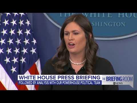 ABC World News Tonight 01/24/18 - White House press briefing on Mueller investigation, DACA...