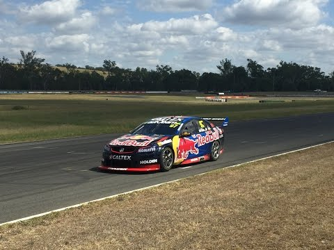 2016 V8 Supercars QLD Test Day