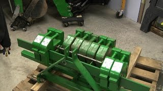 John Deere suitcase weights for rear ballast