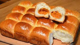 Пирожки с тыквой | Холодное дрожжевое тесто
