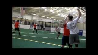 LUFA Indoor Ultimate Frisbee Week 1 Game 2 Highlights(Highlights for 1-7-13, White Velvet vs Waterfront Sex Appeal Indoor Ultimate Frisbee at Mockingbird in Louisville, KY All music rights go the The Prodigy and its ..., 2013-01-16T03:56:55.000Z)