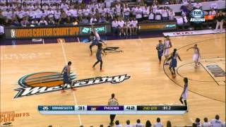 WNBA Playoffs | 29.08.2014 | Phoenix Mercury - Minnesota Lynx (FULL GAME)