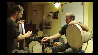 Teaching Frame Drum Left Hand Tak Stroke Concepts