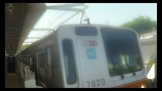 【東急東横線】 東京メトロ7000系7120F 各停 渋谷行き 多摩川到着