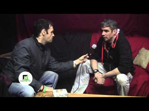 Jesse James of NightSneak interview at Distorted Frequency in Detroit Feb. 28, 2015