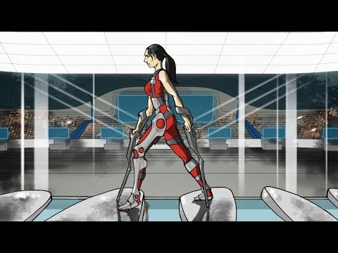 Cybathlon Powered Exoskeleton Race first concept video