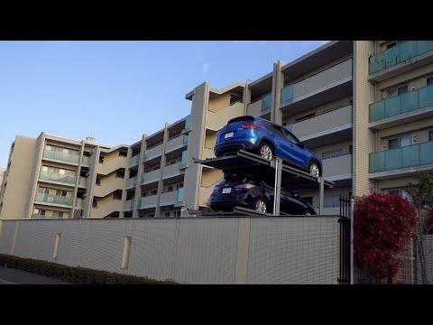 Многоэтажные парковки в Японии