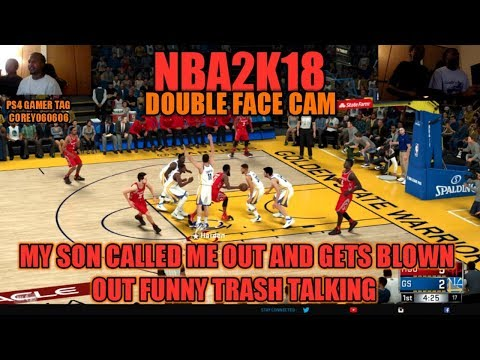 MY SON ROBERT CALLED ME OUT IN 2K18 HEAD CAM AND BODY CAM WHO GOT NEXT ?