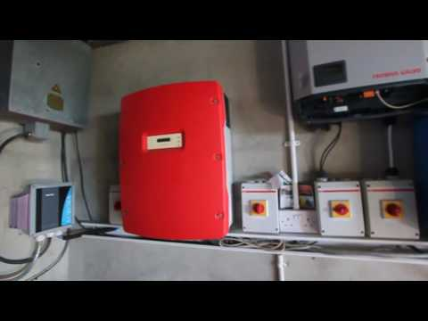 Victron off grid lithium storage system hub4 wind and solar 4x160Ah 5kW multiplus