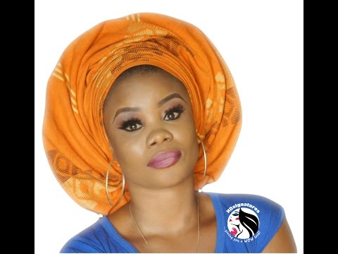 HOW TO: NIGERIAN TRADITIONAL BRIDAL HEAD GEAR
