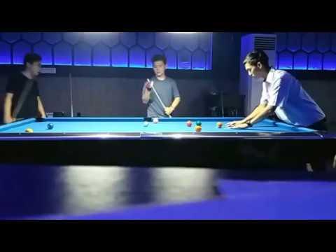 Pertandingan Eksebisi ; Andri Weisun (Asun) Versus Rusdi Ogenk di Maestro Billiard Jakarta 2017