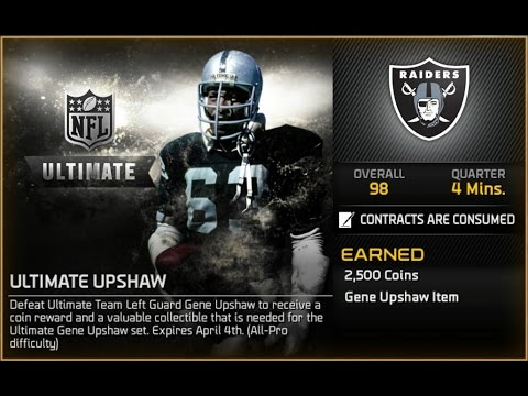 Madden NFL 15 MUT - Ultimate Gene Upshaw Challenge