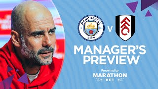 PRESS CONFERENCE | Pep Guardiola | MAN CITY v FULHAM | FA CUP