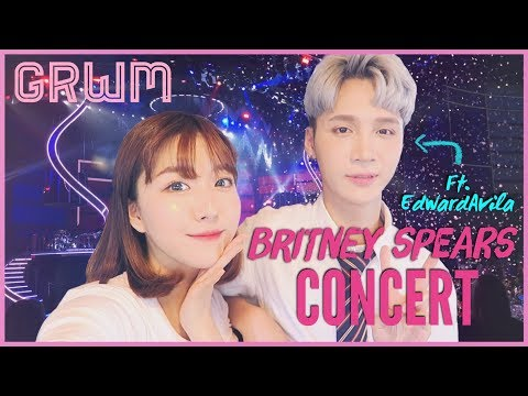 GRWM BRITNEY SPEARS CONCERT IN KOREA Ft. EdwardAvila