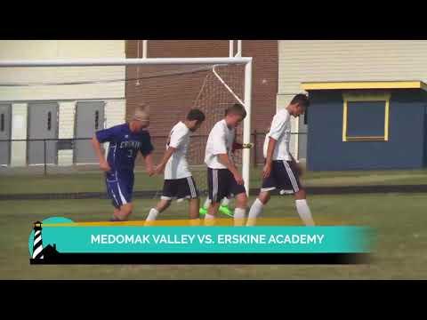 Medomak Valley vs. Erskine Academy Boys Soccer Highlights