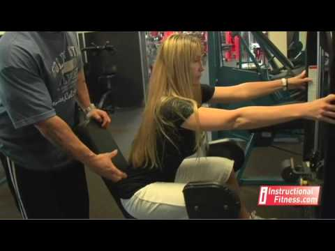 Instructional Fitness - Hip Abduction Machine