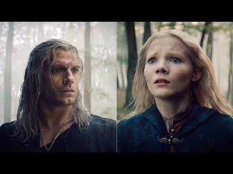 Ведьмак 1x08 - Геральт и Цири находят друг друга
