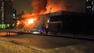Пожар Москва Библиотека (2)