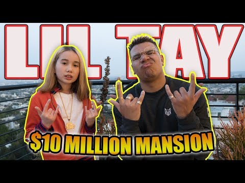 LIL TAY $10 MILLION MANSION (HOUSE TOUR + BHAD BHABIE DISS)
