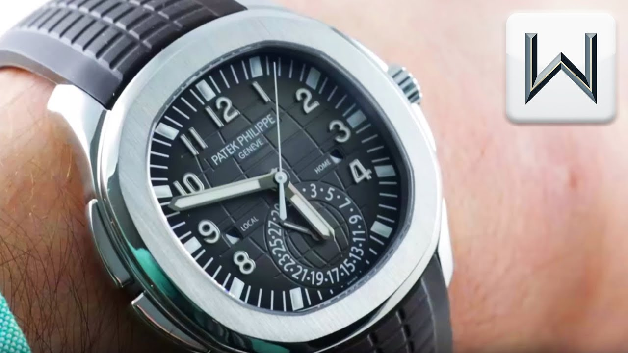 Patek Philippe Aquanaut Travel Time 5164a 001 Luxury Watch Review
