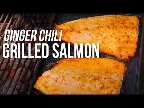 Salmon with Ginger Chili Sauce recipe by the BBQ Pit Boys
