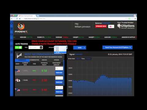 Phoenix Trading Review  - New 2016 Binary Options Sofware
