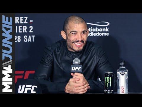 UFC Calgary: Jose Aldo full post-fight press conference