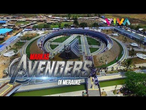 "Jokowi Resmikan ""Markas Avengers"" Di Merauke"