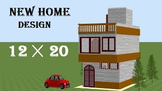 12 By 20 House Plan,12*20 House Plan,12*20 Small Home Design,small Home Design