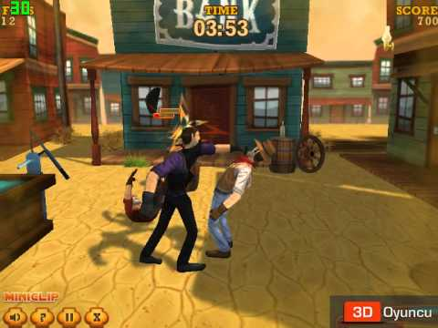 3d Kovboy Dövüşü 2 3d Dövüş Oyunları Youtube