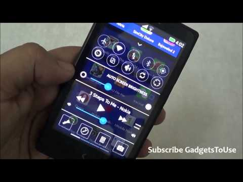 Install Control Center Toggles on Nokia X Like iOS 7 iPhone Interface