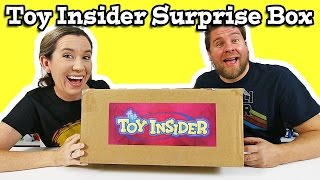 Toy Insider Surprise Box Of Toys Unboxing