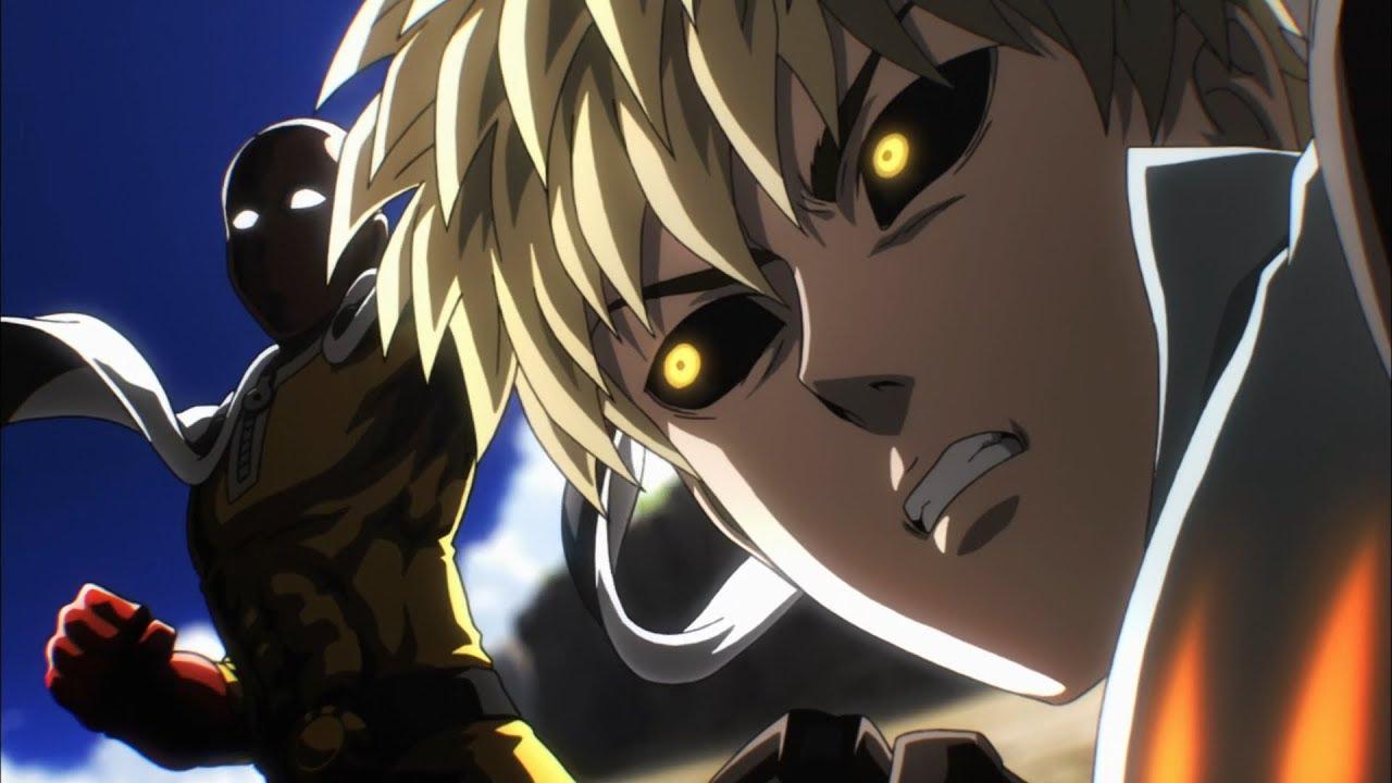 Saitama vs Genos - One Punch Man Dublado - YouTube