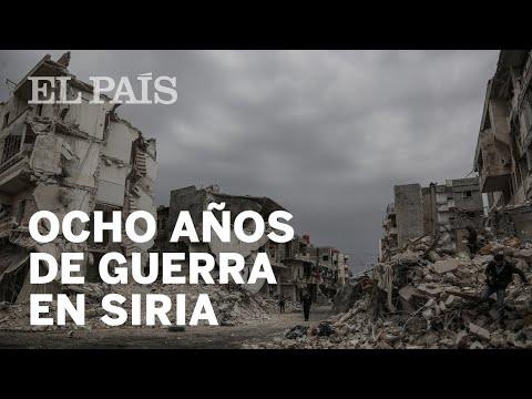 Guerra De Siria Ocho Anos Contados En Cinco Minutos Youtube