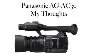 Панасонік АГ-AC30 відеокамери мій останній коментар