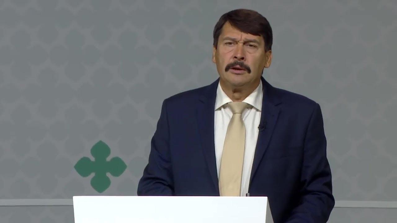 Áder János, Magyarország köztársasági elnökének tanúságtétele