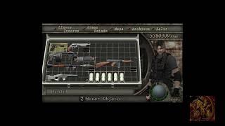 El mejor maletin de Resident evil 4 para modo Normal o dificil