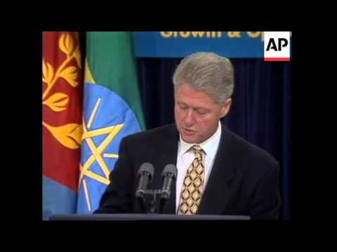 USA: BILL CLINTON ENDORSES INCREASED TRADE & INVESTMENT IN AFRICA