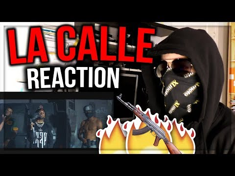 La Calle - Blingz FT Darell, Bryant Myers, D Ozi | Official Video REACTION!!!
