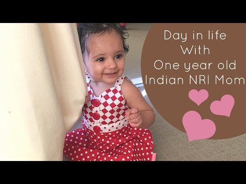 Indian NRI Mom | Day in life with one year old