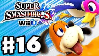 Super Smash Bros. Wii U - Gameplay Walkthrough Part 16 - Duck Hunt! (nintendo Wii U Gameplay)