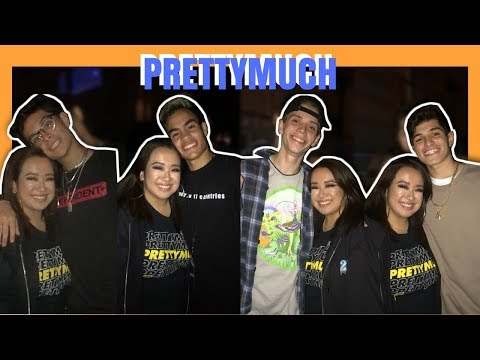 The Roxy Tour: SF (FULL SHOW) ft. Khalid & PRETTYMUCH - May 5-6, 2018 - Vlog | Jill Millare